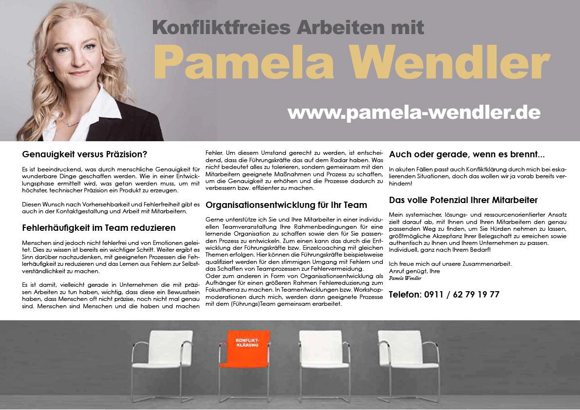 Konfliktfreies Arbeiten mit Pamela Wendler