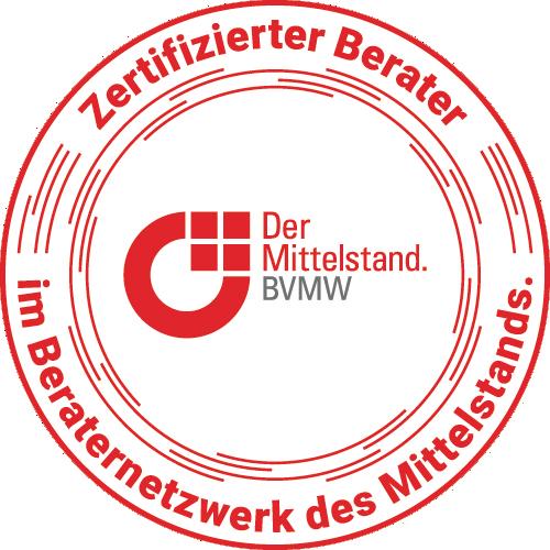 Siegel Beraternetzwerk des Mittelstands - BVMW