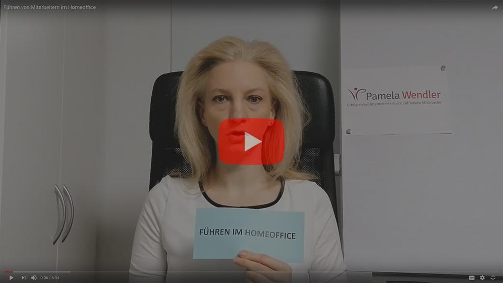Video führen von Mitarbeitern im Homeoffice Pamela Wendler